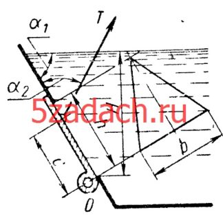 Определить минимально необходимое натяжение Решение задач по гидравлике Гидравлика Куколевский куколевского