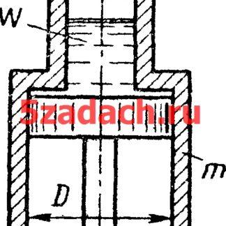 Покоящийся на неподвижном поршне Решение задач по гидравлике Гидравлика Куколевский куколевского