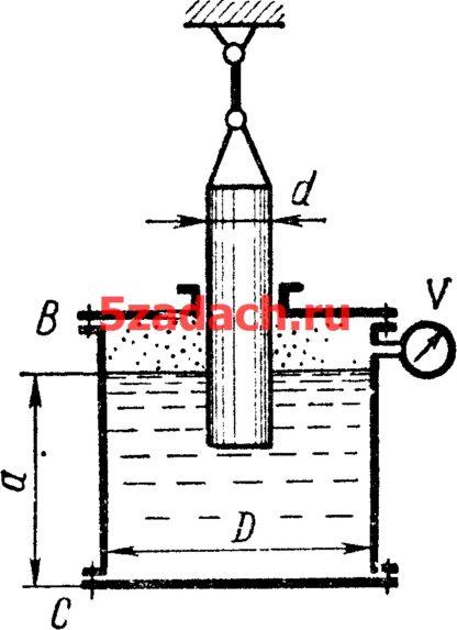 Цилиндрический сосуд, имеющий диаметр Решение задач по гидравлике Гидравлика Куколевский куколевского