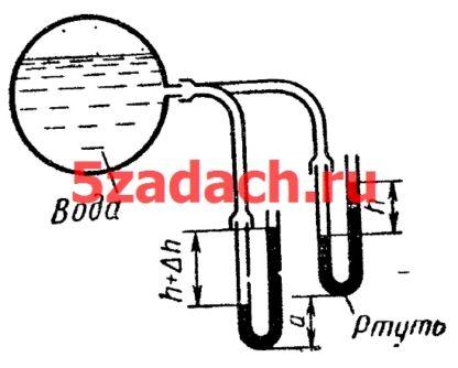 Давление на поверхности воды в резервуаре Решение задач по гидравлике Гидравлика Куколевский куколевского