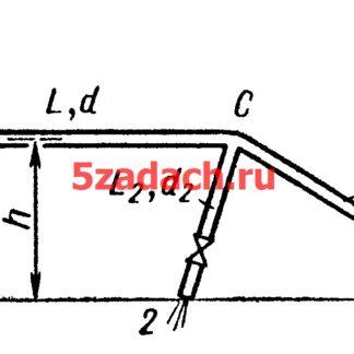 Определить расходыводы Решение задач по гидравлике Гидравлика Куколевский куколевского