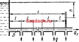По магистральному трубопроводу длиной Решение задач по гидравлике Гидравлика Куколевский куколевского