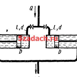 Перемещение поршней гидроцилиндровРешение задач по гидравлике Гидравлика Куколевский куколевского