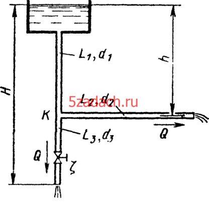 По двум одинаковым открытым Решение задач по гидравлике Гидравлика Куколевский куколевского
