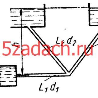 Определить расходы Q1, Q2 и Q3 Решение задач по гидравлике Гидравлика Куколевский куколевского