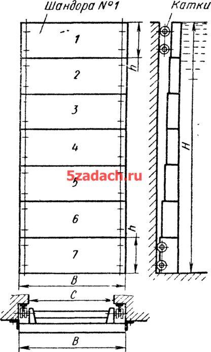 В плотине сделан прямоугольный проем Решение задач по гидравлике Гидравлика Куколевский куколевского