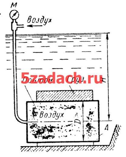 Цилиндрический понтон диаметром Решение задач по гидравлике Гидравлика Куколевский куколевского