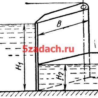 Двустворчатые ворота отгораживают шлюзовую камеру