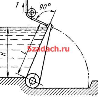Клапанный затвор, имеющий плоскую поверхность