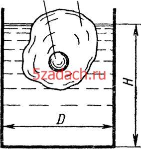 В цилиндрическом сосуде плавает кусок льда Решение задач по гидравлике Гидравлика Куколевский куколевского