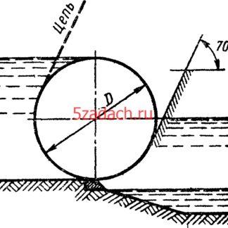 Цилиндрический затвор диаметром Решение задач по гидравлике Гидравлика Куколевский куколевского