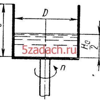 айти число оборотов цилиндрического сосуда высотой