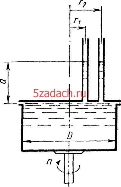 Цилиндрический сосуд диаметром Решение задач по гидравлике Гидравлика Куколевский куколевского