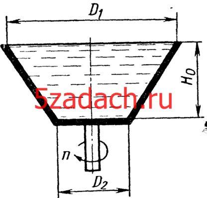 Определить наименьшую частоту вращения Решение задач по гидравлике Гидравлика Куколевский куколевского