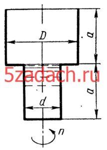 Сосуд, вращается относительно Решение задач по гидравлике Гидравлика Куколевский куколевского