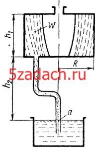 Цилиндрический сосуд радиусом Решение задач по гидравлике Гидравлика Куколевский куколевского