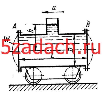 Цистерна диаметром D = 1,2 м и длиной Решение задач по гидравлике Гидравлика Куколевский куколевского