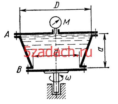 Конический сосуд размерами Решение задач по гидравлике Гидравлика Куколевский куколевского