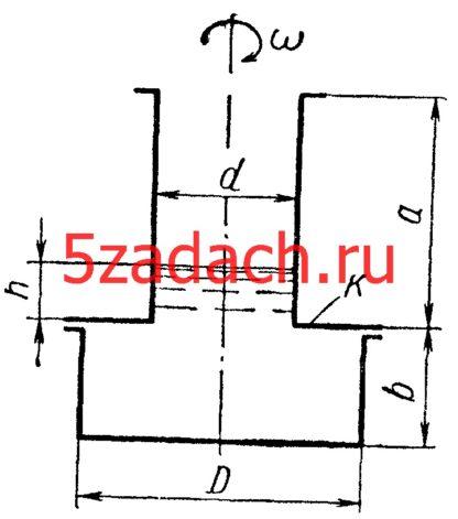 Цилиндрический сосуд с горловиной Решение задач по гидравлике Гидравлика Куколевский куколевского