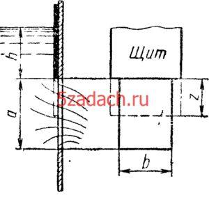 ода вытекает через большое прямоугольное Решение задач по гидравлике Гидравлика Куколевский куколевского