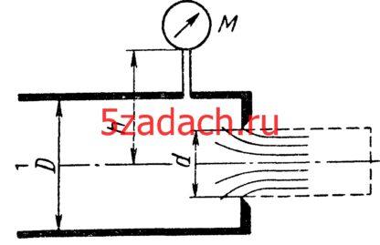 Определить расход воды через отверстие с острой кромкой диаметром Решение задач по гидравлике Гидравлика Куколевский куколевского
