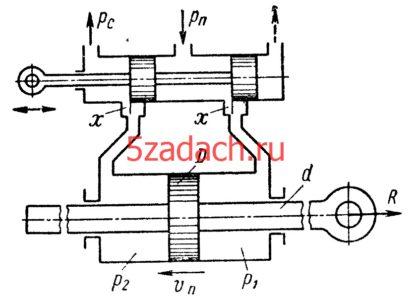 Рабочая жидкость подается в цилиндр Решение задач по гидравлике Гидравлика Куколевский куколевского