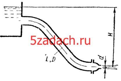 Для трубопровода диаметром Решение задач по гидравлике Гидравлика Куколевский куколевского