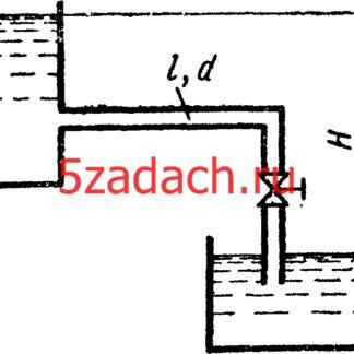 Определить расход жидкости кинематическая вязкость по трубке размерами